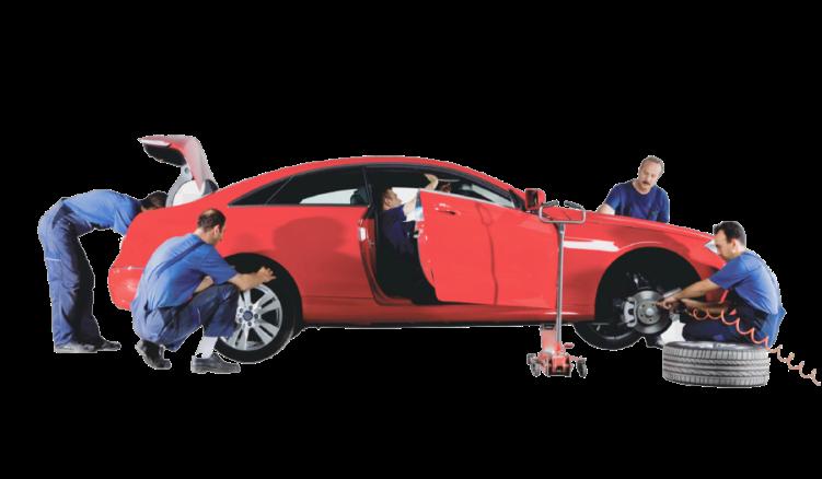 Восстановление поврежденного автомобиля купленного из США